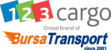 123 Cargo Bursa Transport logo