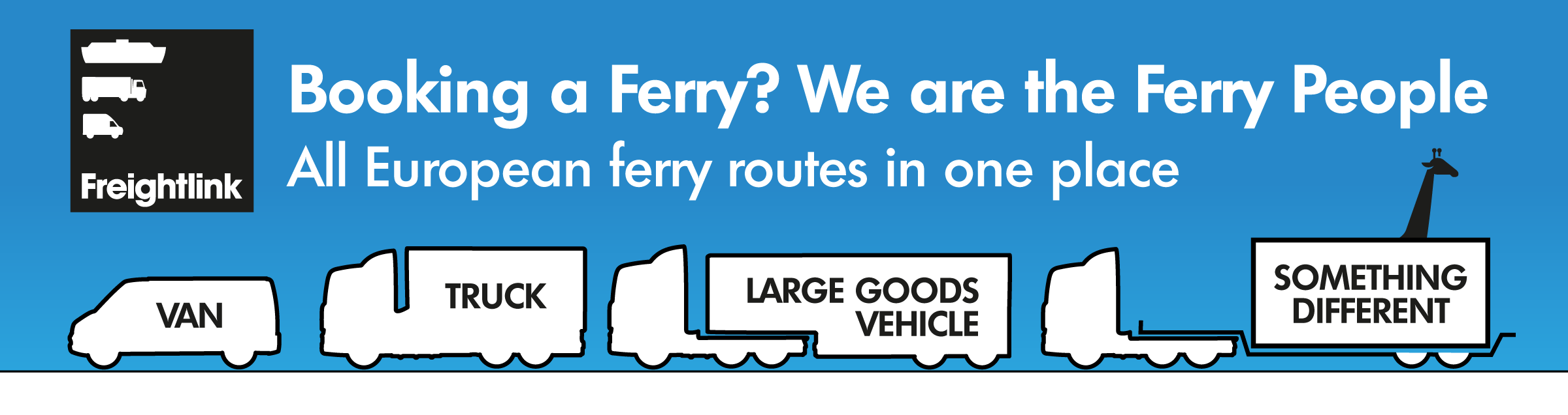 booking a ferry? We are the ferry people. All European ferry routes in one place