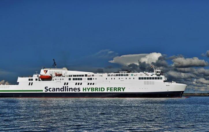 scandlines mv  u0026quot berlin u0026quot  final sea tests