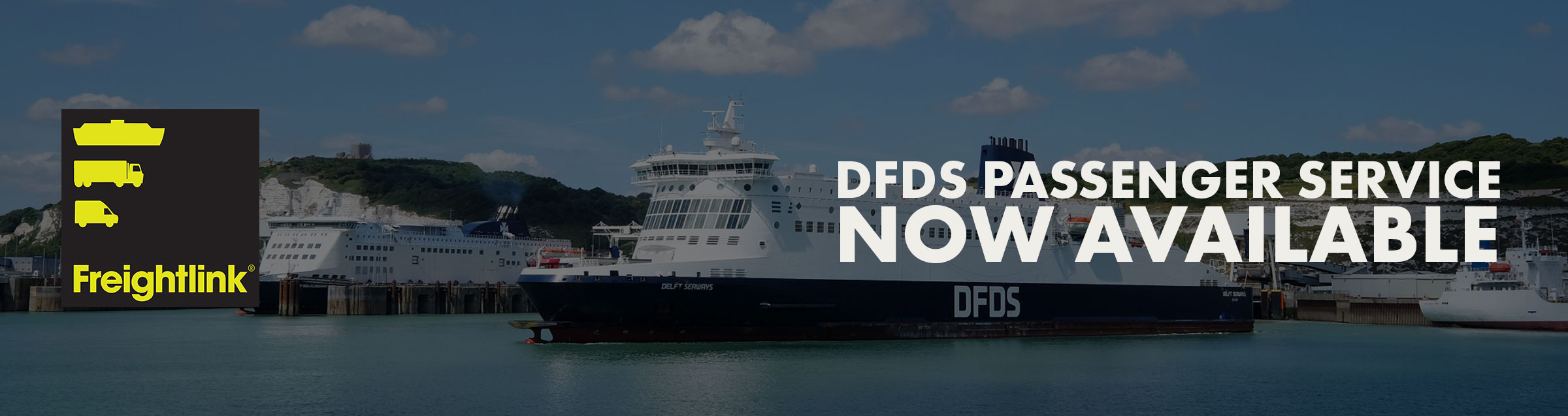 DFDS Passenger Service Now Available