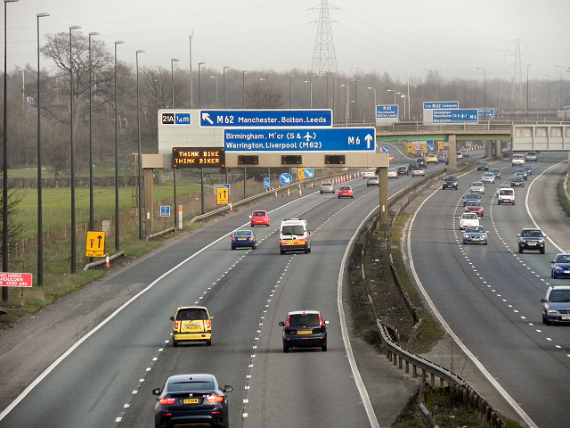 croft interchange m6 m62