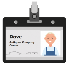 Dave antiques owner