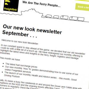 new freightlink newsletter