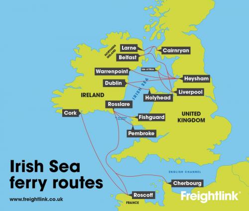 Ferry To Ireland From Holyhead >> Everything is 'shipshape' on the Irish Sea | Freightlink - The Freight Ferry People