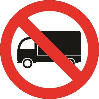 no hgv sunday public holiday