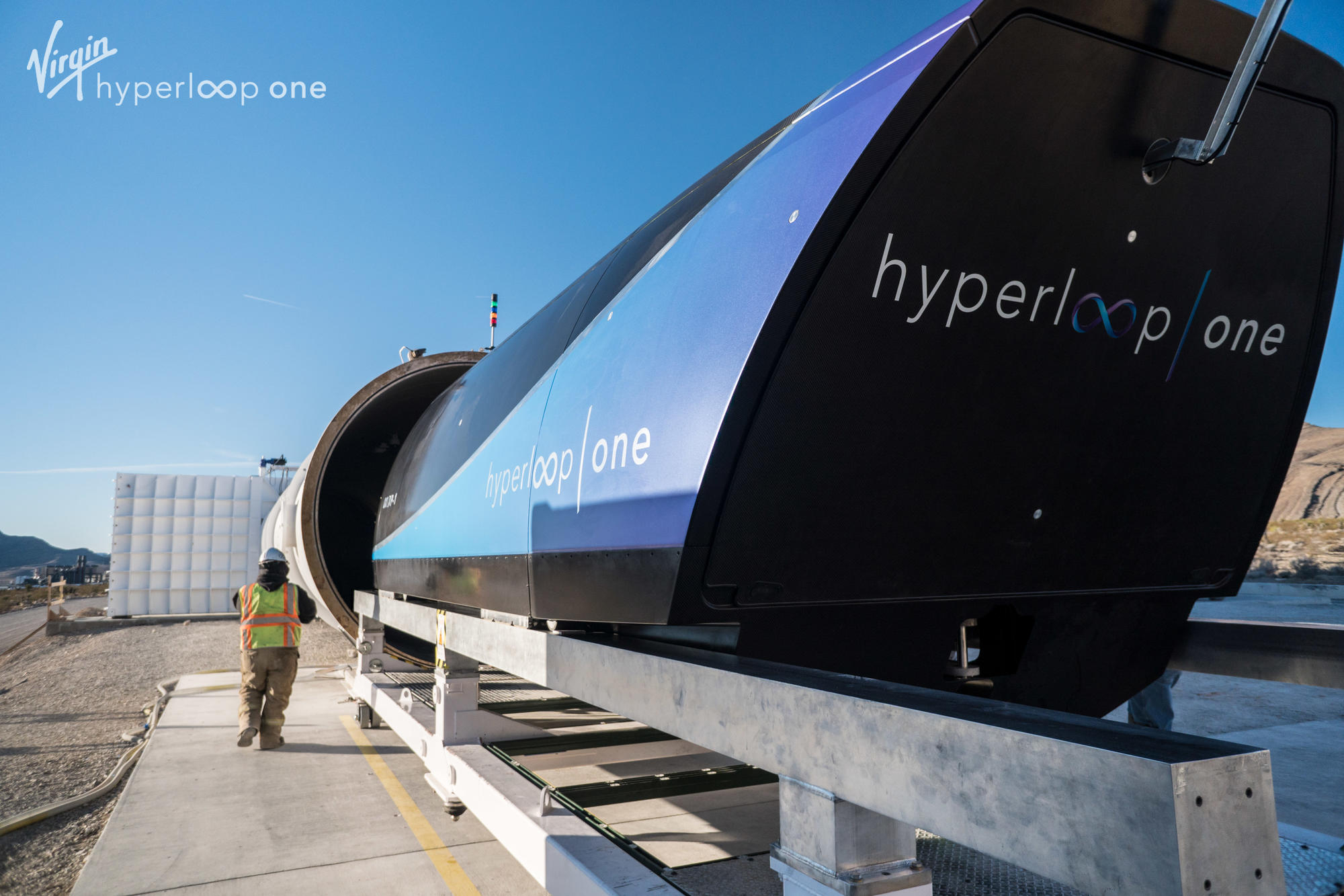 Virgin Hyperloop One tube
