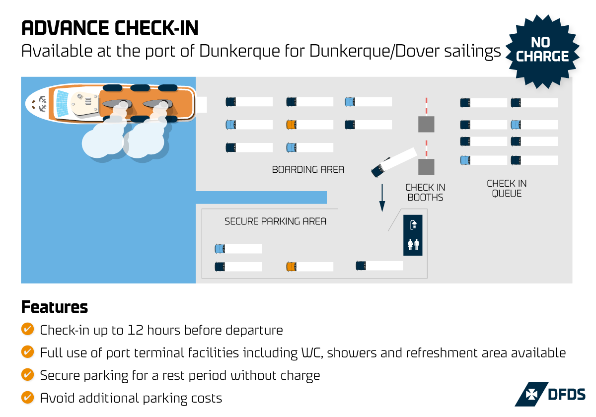 DFDS Advance Check-In