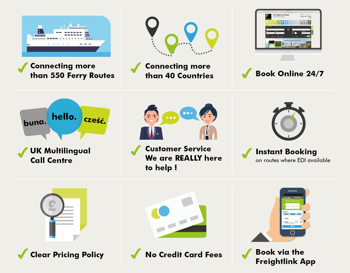 9 reasons to use freightlink
