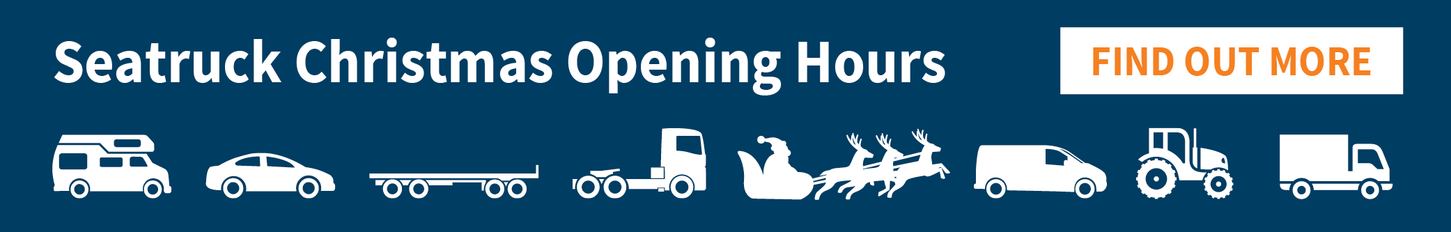 seatruck christmas opening hours