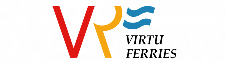 Virtu Ferries logo