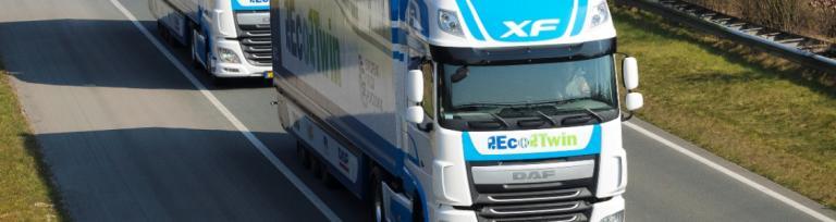 DAF lorry truck platooning challenge