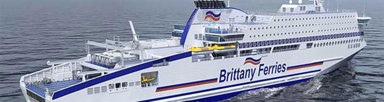 Brittany Ferries Honfleur LNG ferry
