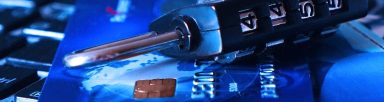 credit card padlock