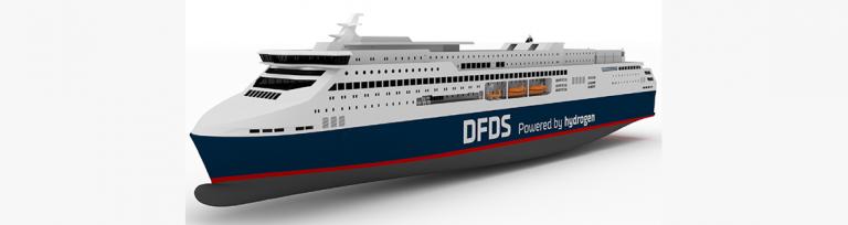 DFDS Europa Seaways Hydrogen Ferry