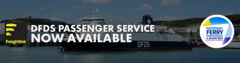 DFDS Passenger National Ferry Fortnight