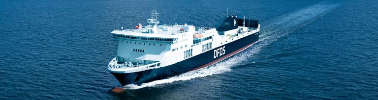 DFDS Rosslare - Dunkerque ferry
