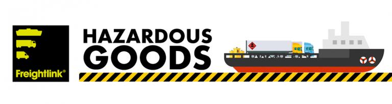 dangerous goods infographic header