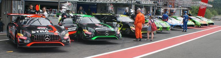 Freightlink Motorsport at Spa in 2019