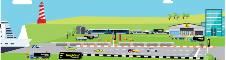 Freightlink scene