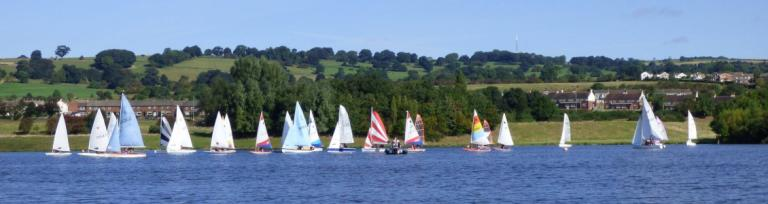 First day season 2017 at Sailfree Otley Sailing Club