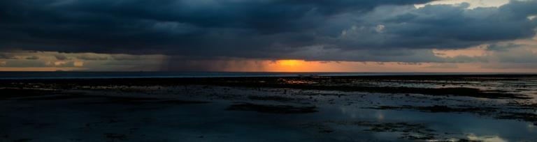 Seaside storm