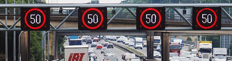smart motorway gantry