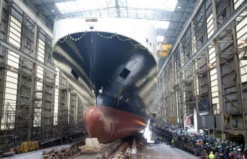 DFDS Gardenia Seaways RoRo Freight Ferry