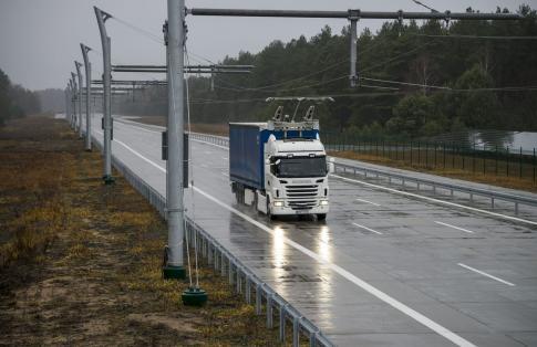 E Truck Pantograph