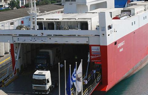 ferry boarding