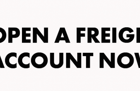 open a freightlink account now