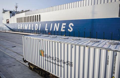 Grimaldi Super Ferry