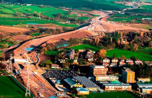 Heysham M6 Link Road HGVs
