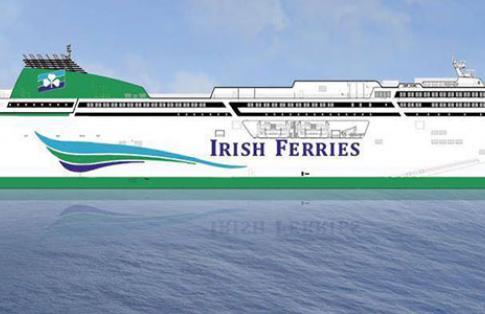 Irish ferries new ro-pax