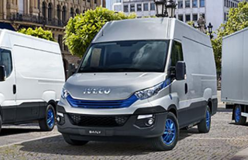 Iveco daily blue power vans
