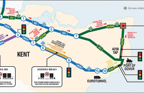 Operation Brock map