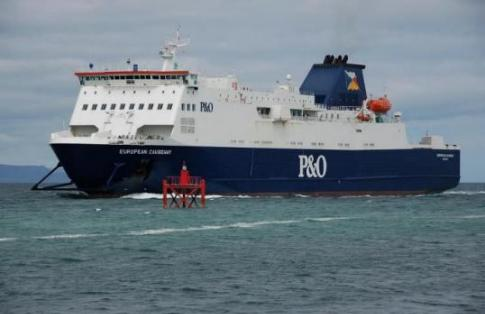P&O Ferries Cairnryan Port