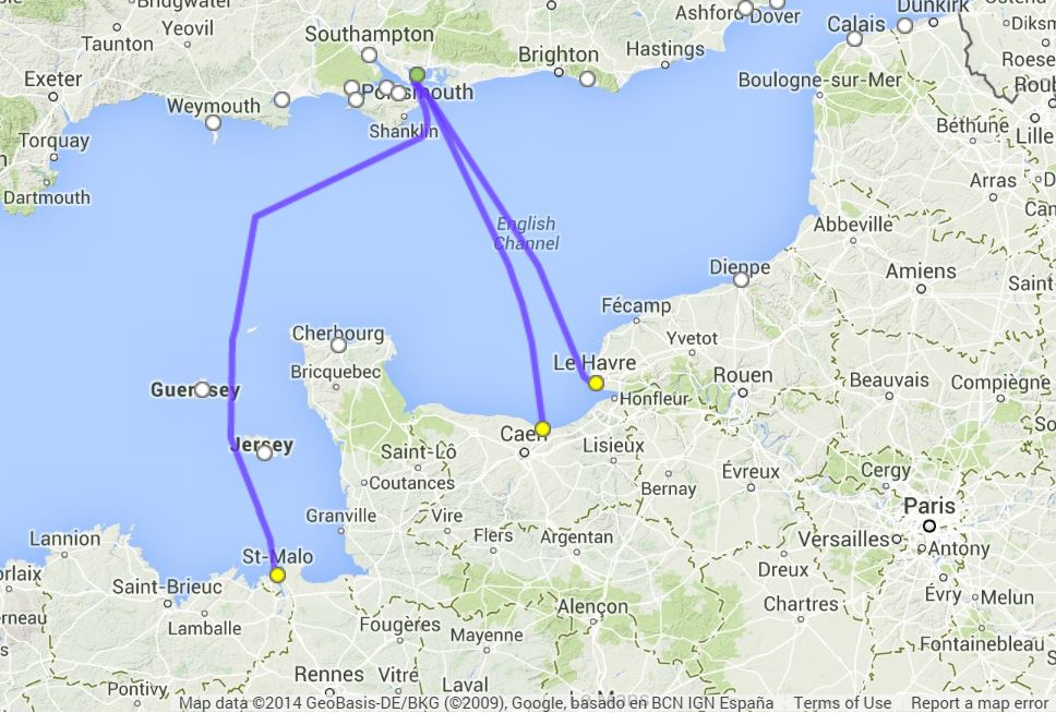 Portsmouth To Le Havre >> How do I get a ferry from UK to France | Freightlink - The ...